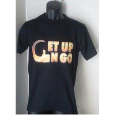 T shirt - Gold Logo - style 7600