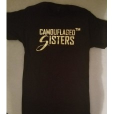 Camouflaged Sisters Foil Tee
